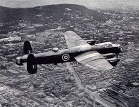 The Lancaster is fitted with fast-acting power turrets