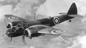 Bristol Blenheim Mk IV RAF bomber of the early war years
