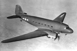 Douglas C-47 Skytrain known as floating transport