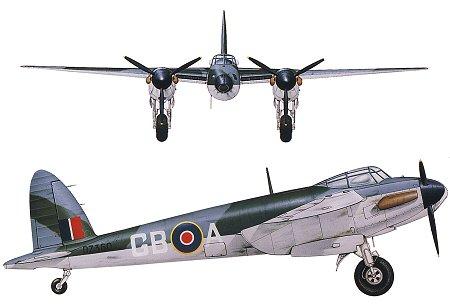A De Havilland Mosquito Mk B 4