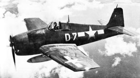 Grumman F6F Hellcat single-seat carrier based fighter