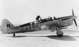 Fairey Firefly with two seat reconnaissance fighter