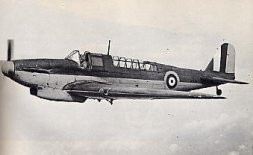 Fairey Fulmar two seat carrier based fighter