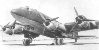 Focke Wulf Fw 200 Condor known as 'the scourge of the Atlantic'