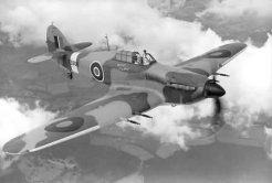 Known as  Twelve-gun 'Hurribomber' Hawker Hurricane