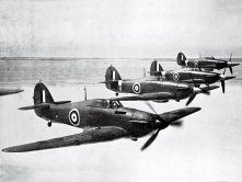 The Hawker Hurricane to be called 'Hurribombers' and tank-busters