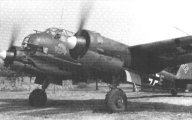 Close quarters of the Junkers Ju 88