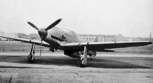 Kawasaki Ki-61 with three-bladed propeller