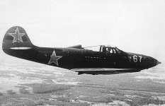 P-39 Airacobra single seat fighter