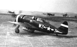 Republic P-47D/M/N Thunderbolt single-seat fighter and fighter bomber