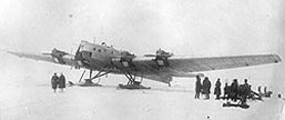 Tupolev TB-3 at the North Pole